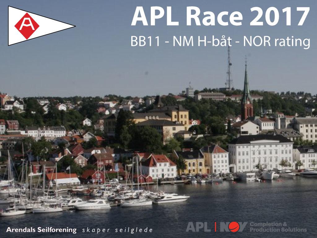 APL Race 2017 – Seilingsbestemmelser